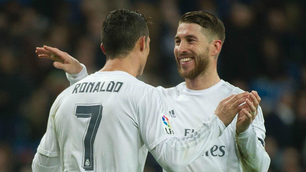 Ronaldo and Ramos