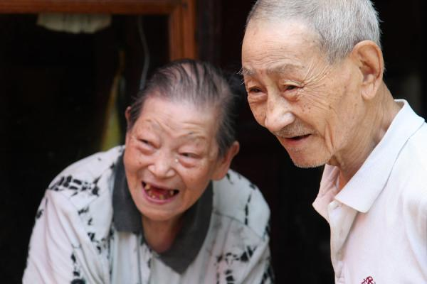 Old Couple In China