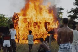 Secondary school students burn down house over witchcraft claims