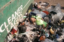 dead baby thrown at dump site