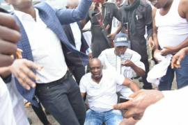 Fayose slapped and beaten by police, cries