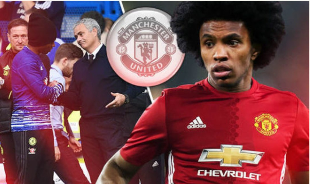 Transfer: Chelsea finally 'accept' €75m bid from Manchester United for Willian