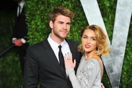 Liam Hemsworth- Miley Cyrus