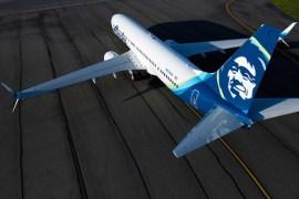 Alaska Airline Passenger plane