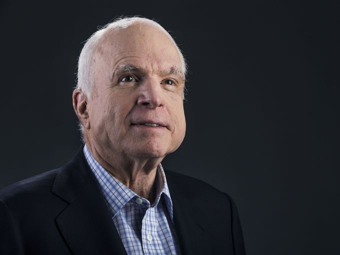 Trump Complimented Sen. Graham on McCain Tribute