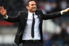 Frank Lampard Derby Manager