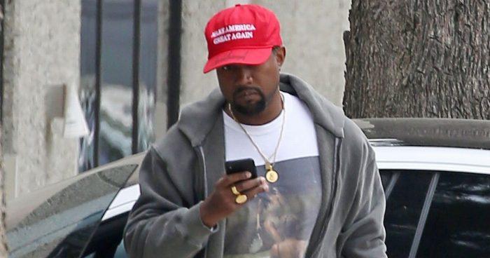 Kanye_West_MAGA_hat_Trump