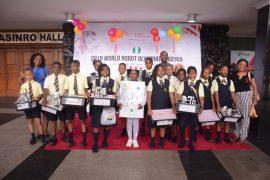 Nigerian Robot Olympiad contestants