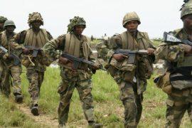 soldiers fighting Boko Haram