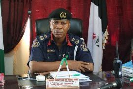 NSCDC Commander in Borno, Mr Ibrahim Abdullahi