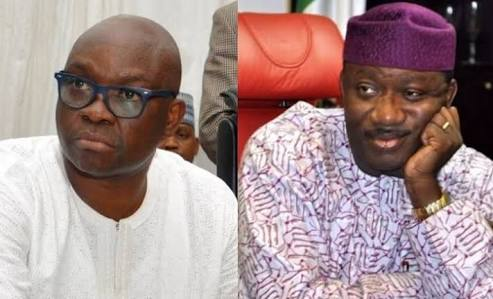 Image result for God will judge Fayose