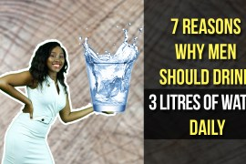 3 litres of water