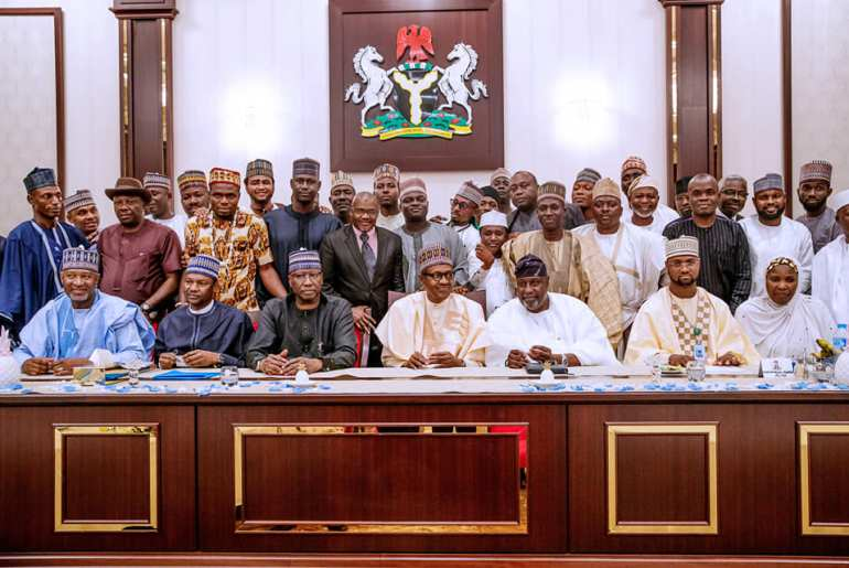Buhari and APC aspirants