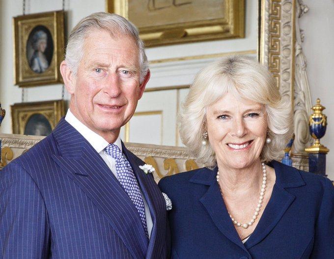 Prince Charles and wife, Camilla, Duchess pf Cornwall