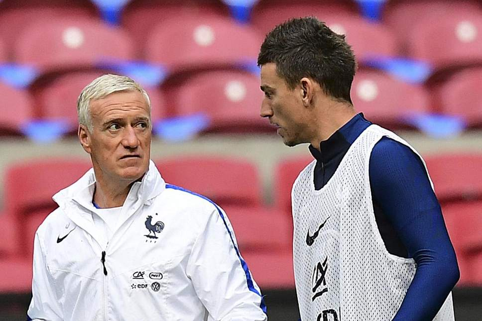 laurent koscielny and Didier Deschamps