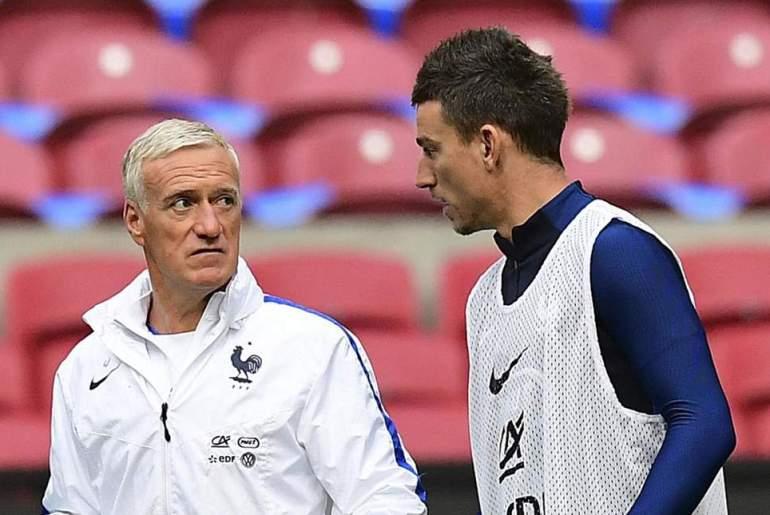 laurent koscielny and Didier Deschamps