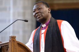 Most Rev. Emmanuel Egbunu, Anglican archbishop of Lokoja