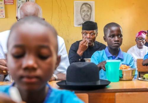 Osinbajo School Feeding