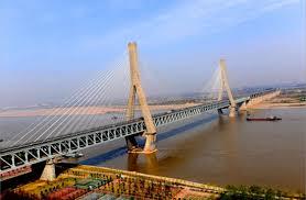 Wuhan longest bridge