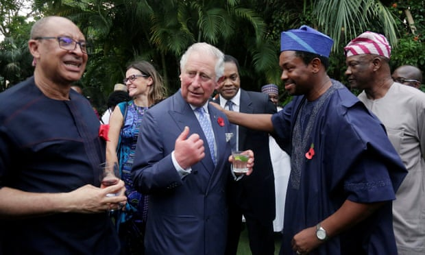 Prince Charles Speaks Pidgin English to Lagos Crowd