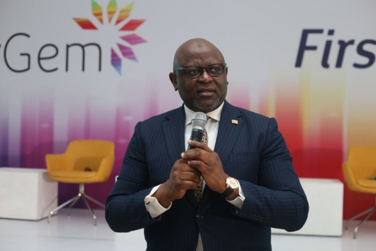Dr Adesola Adeduntan, managing director, First Bank