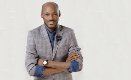 INEC present recognition award to 2face