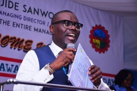 Babajide Sanwo-Olu speaks on Lagos traffic