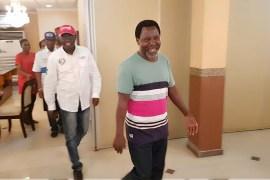 Jide Sanwo-Olu and TB Joshua