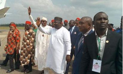 Buhari in Enugu