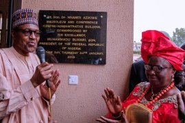 Buhari in Onitsha
