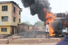 Fire razes Onistsha paper shops