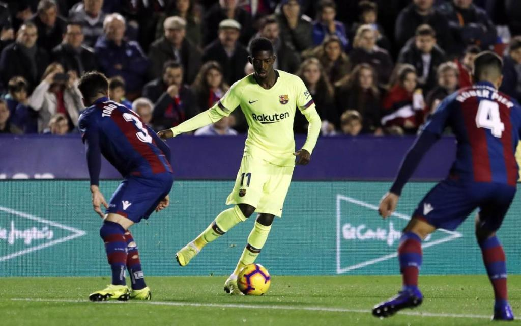 Levante and Barcelona
