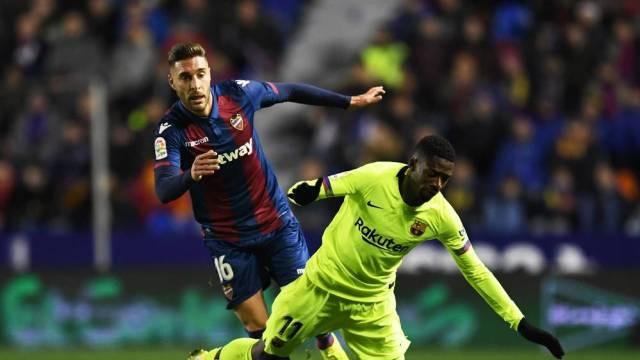 Copa del Rey- Levante 2-1 Barcelona