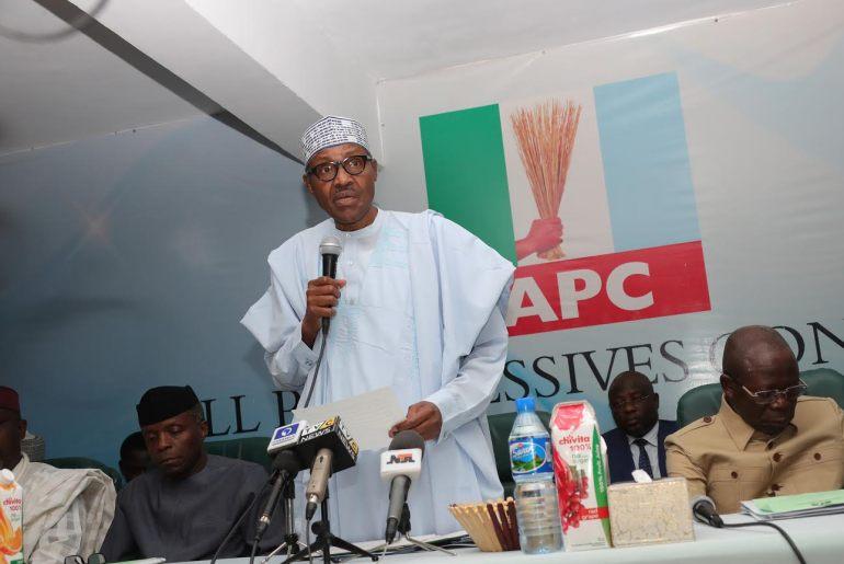 Buhari - APC NEC Meeting