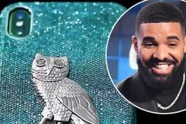 Drake's diamond iphone cover