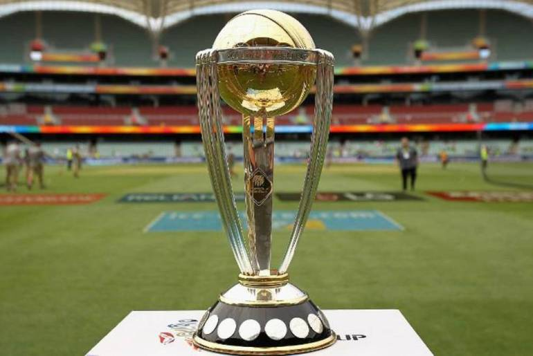 ICC World Cup Trophy