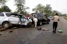 Ogun SSG in auto crash
