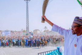 President Buhari - APC campaign rally