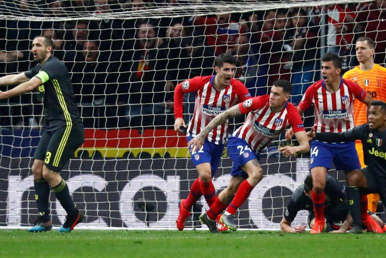 6cc6405b39 Atletico Madrid strike late to overpower Juventus ⋆