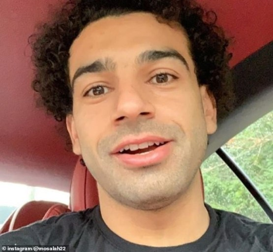 Photo: See what Mohamed Salah now looks like