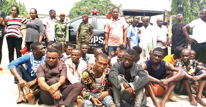 suspects PVC theft
