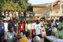 voting in Nigeria - INEC