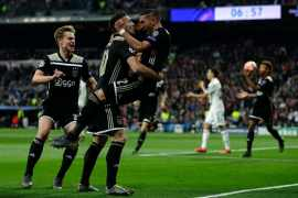 Ajax vs Real Madrid - UEFA Champions League