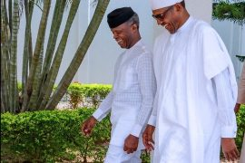 Buhari and Osinbajo after CAN leadership meeting