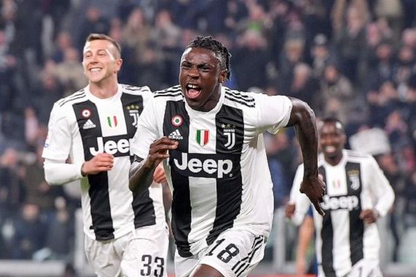 Moise Kean - Juventus vs Empoli - Serie A