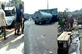 Onitsha tanker accident