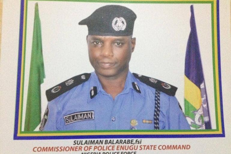 Suleiman Balarabe, Enugu Police Command
