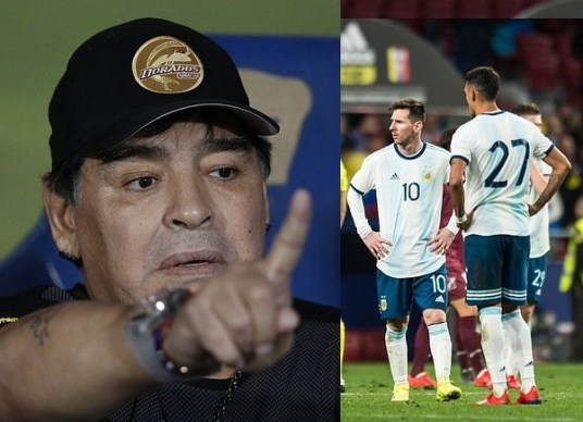"""""""I don't watch horror movies"""" – Maradona berates Messi and Co. after loss to Venezuela"""