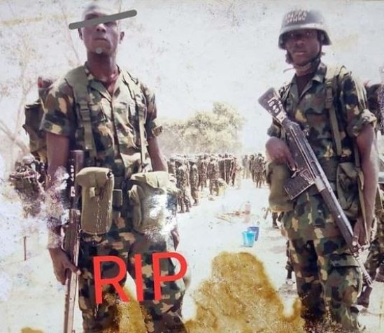 Soldier narrates his agony since a partner took his own life while fighting Boko Haram