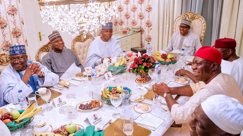 Buhari - NASS leaders